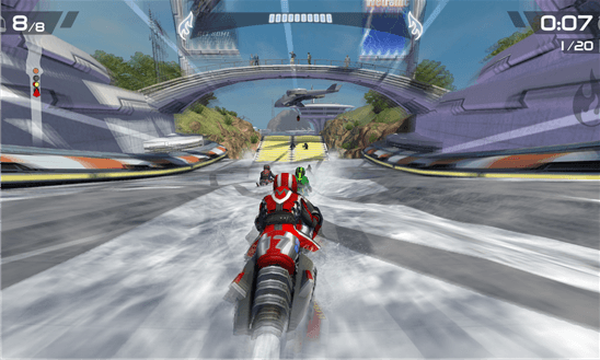 Riptide GP2 для Windows Phone