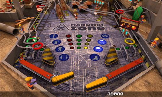 Pinball League: HardHat Zone для Windows Phone
