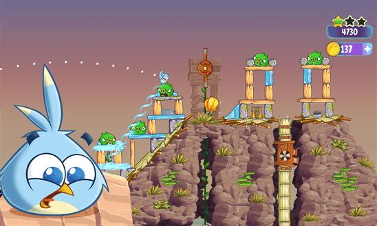 Angry Birds Stella для Windows Phone