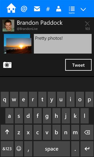 Tweetium для Windows Phone