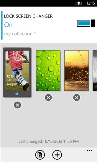 Lock Screen Changer  для Windows Phone