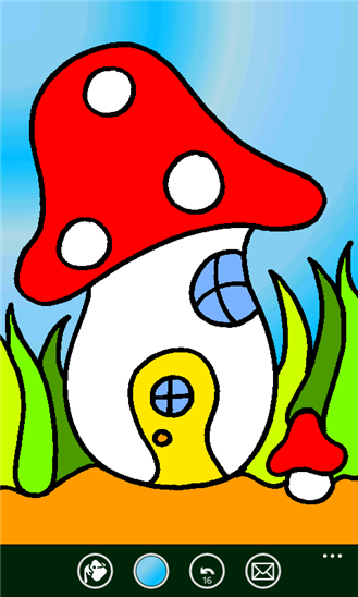 Раскраска Colour Sprouts для Windows Phone