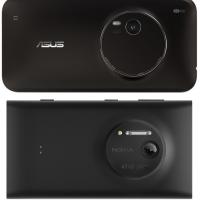 Asus показали свой клон Lumia 1020