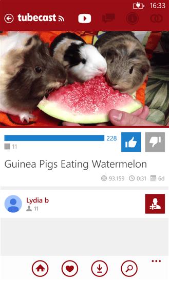 Скачать Tubecast PRO для Nokia Lumia 635