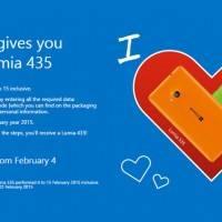 Microsoft Италия дарят Lumia 435 покупателям Lumia 535