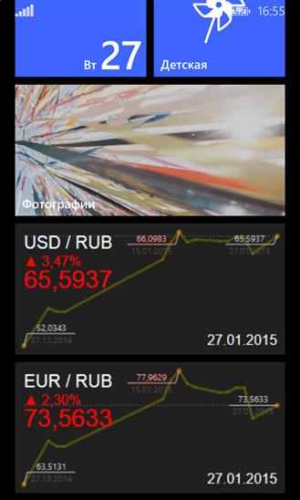 Скачать Курс валют ЦБ РФ для HTC Radar