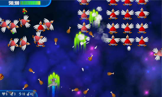 Chicken Invaders 3 для Windows Phone