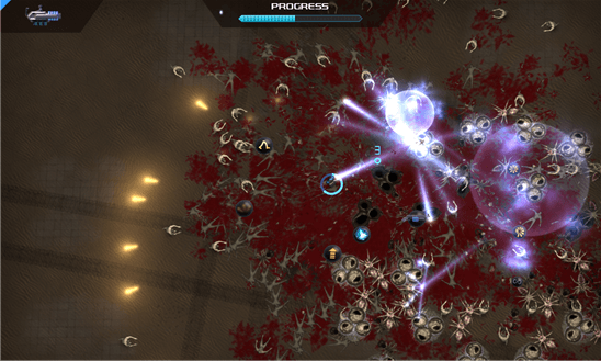 Crimsonland для Windows Phone