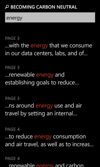 PDF Reader для Windows Phone