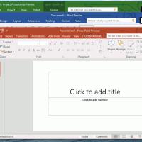 Появились новые скриншоты Office 16