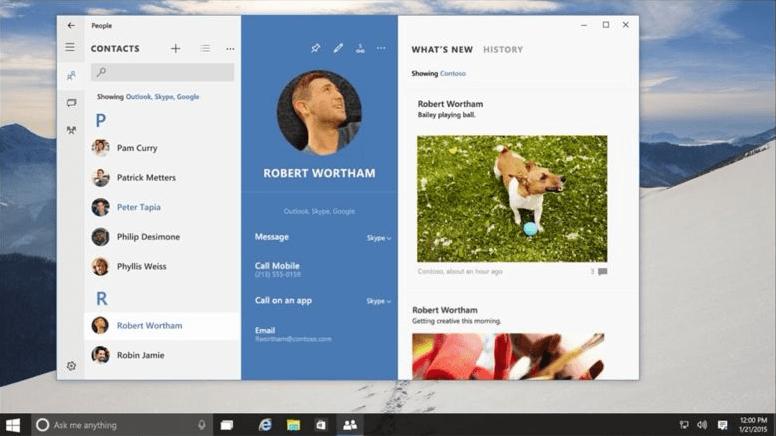 Windows 10 приложения для знакомств