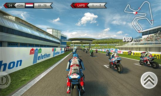 SBK15 Official Mobile Game для Windows Phone