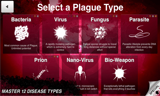 Plague Inc для Windows Phone
