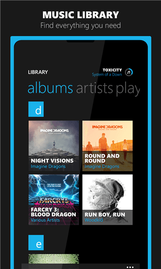 Скачать n7player Music Player для Nokia Lumia 1520