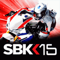 SBK15 Official Mobile Game для Samsung Omnia W