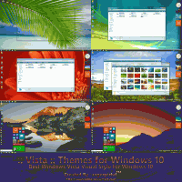 Темы Windows Vista для Windows 10