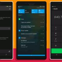 Отличный концепт Windows 10 Mobile с улучшенными наработками Microsoft