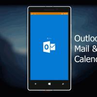 Видео-обзор почты и календаря в Windows 10 Mobile