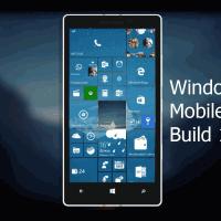 Видео-обзор Windows 10 Mobile Build 10166