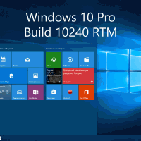 Видео-обзор Windows 10 Pro Build 10240 RTM