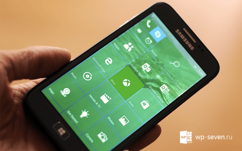 Windows 10 Mobile может выйти осенью