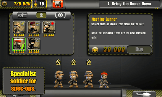 Tiny Troopers для Windows Phone