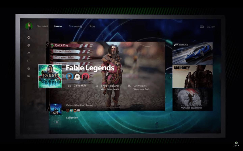 Xbox One перейдет на Windows 10 в ноябре
