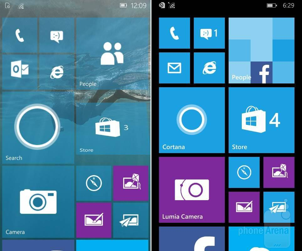 Как из windows phone 10 сделать 8.1