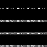 Глюк экрана блокировки