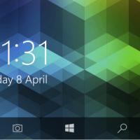 Windows 10 Mobile Redstone принесет кнопку камеры на экран блокировки