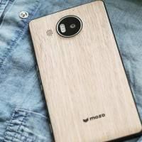 Mozo готовит деревянные крышки для Lumia 950 и XL
