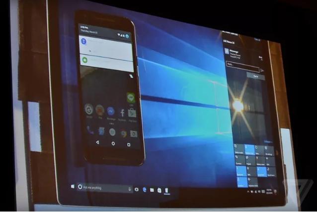 Windows 10 сейчас может отображать объявления с андроид