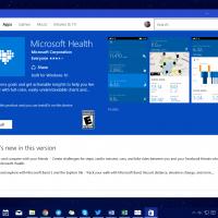 Microsoft Health доступно теперь на Windows 10