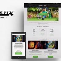 Mojang запустила новую версию сайта Minecraft