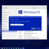 Как сменить имя компьютера в Windows 10