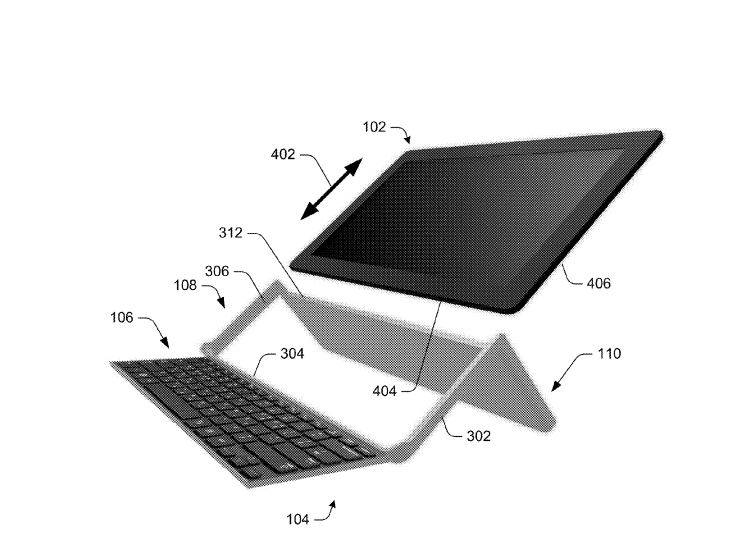 Самсунг запатентовал планшет-раскладушку
