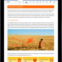 Office для iOS получил поддержку Edmodo и Tencent