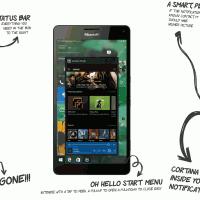 Концепт Windows 10 Mobile Redstone 2