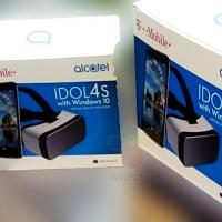 Так выглядит коробка с Alcatel Idol 4S на Windows 10