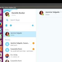 В Skype для Linux появились групповые видеозвонки