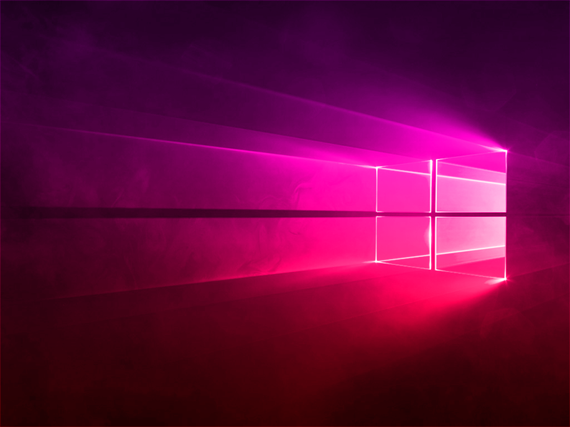 Windows 10 Gradient Magenta-Red