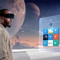 Microsoft показала на видео как будет смешивать физическую и виртуальную реальность