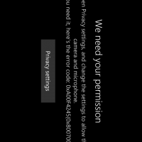 Не работает камера на Windows 10 Mobile