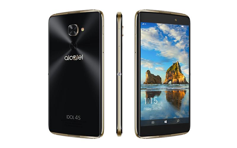 5,5-дюймовый Alcatel Idol 4S наWindows обойдется в $470