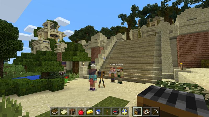 Microsoft объявила орелизе образовательного издания игры Minecraft