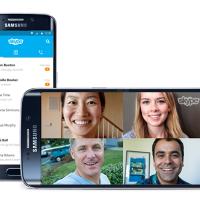 Skype для Android получил новый интерфейс
