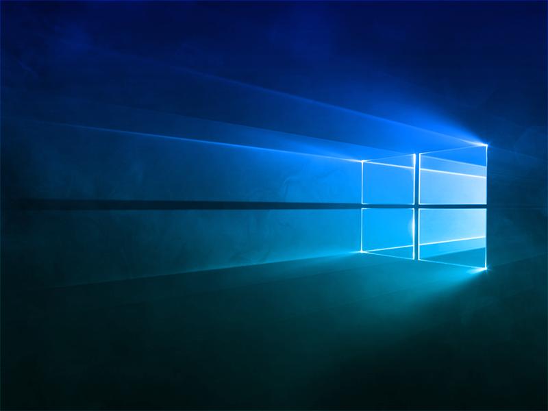Windows 10 Hero Blue
