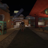 На консолях выйдет специальное дополнение Minecraft Fallout Edition