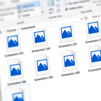 Как включить отображение эскизов изображений в проводнике Windows 10