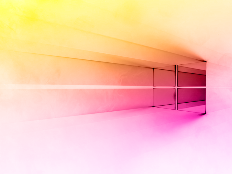 Windows 10 White Gradient